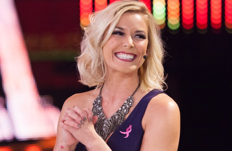 Renee Young, a famous Canadian TV Host and Personality