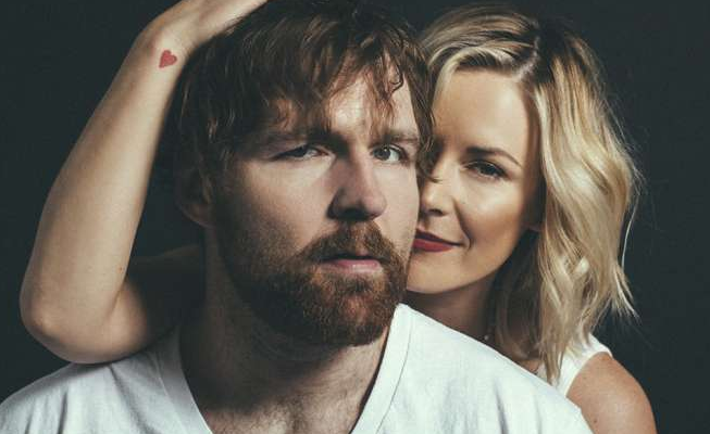 Renee Young with her husband, Dean Ambrose