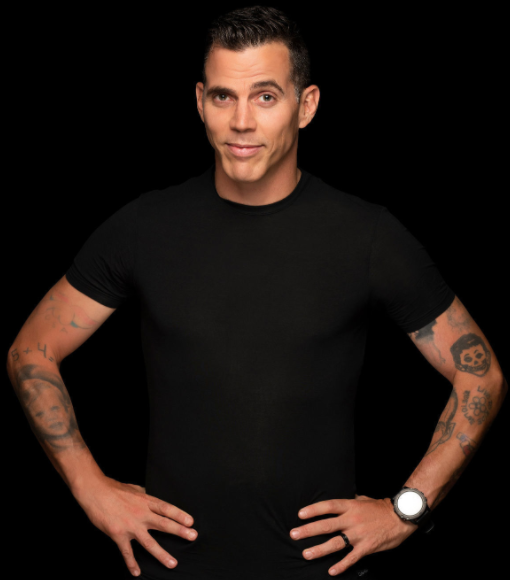 Steve-O, an American television personality, stunt performer, comedian