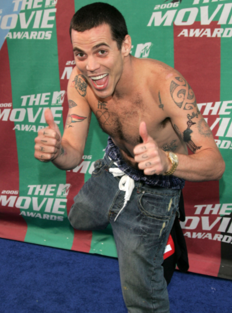Steve-O is famous for his performance stunts on the television series 'Jackass' and its related movies