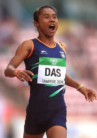 Hima Das Height