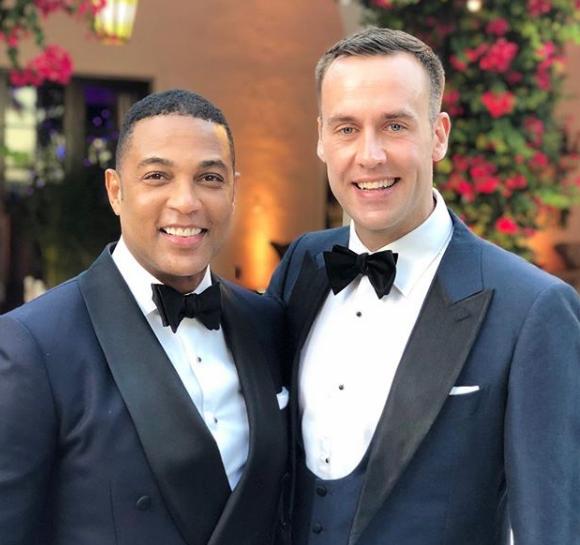 CNN Don Lemon and Tim Malone Gay Wedding