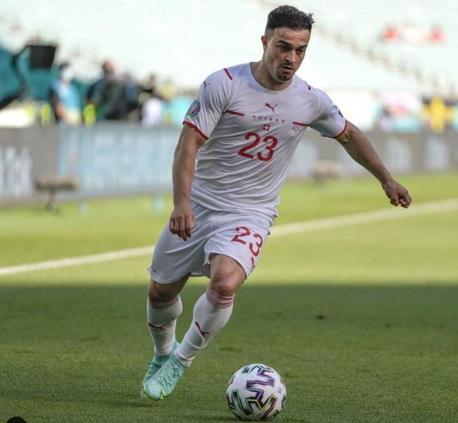 Swiss professional football player, Xherdan Shaqiri