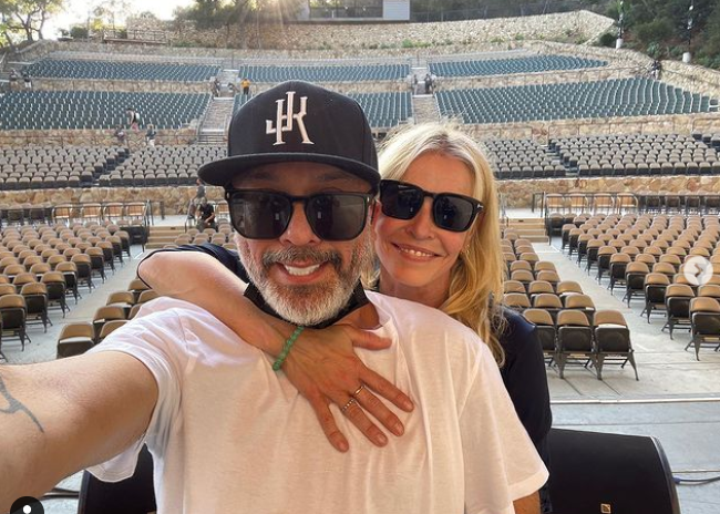 Chelsea Handler and her boyfriend, Jo Koy