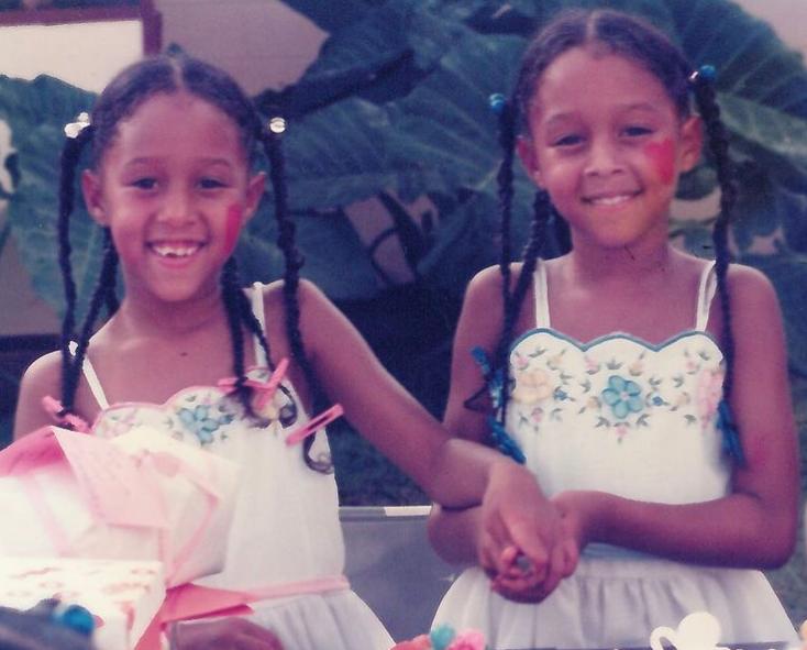 Tia Mowry and Tamera Mowry  Childhood