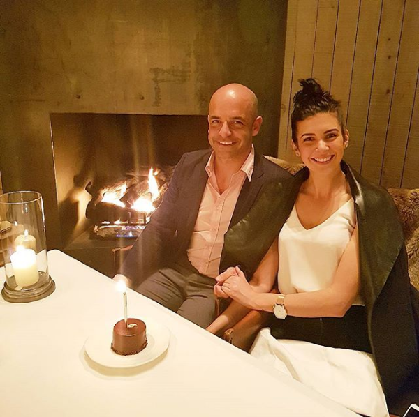adriano zumbo with her Girl Friend