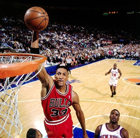 Scottie Pippen Scoring