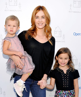 Ambyr Childers and her children