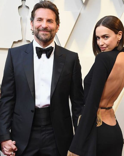 Bradley Cooper and Irina Shayk Oscars Awards 2019