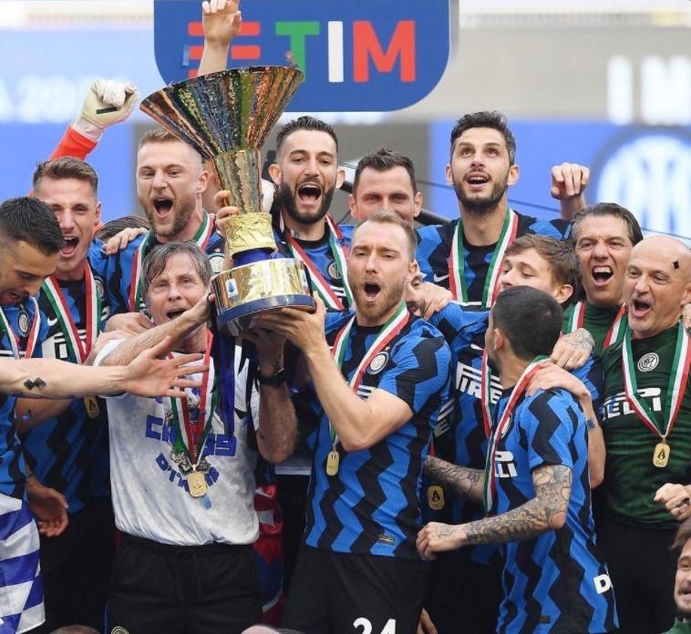 Christian Eriksen Inter Milan.
