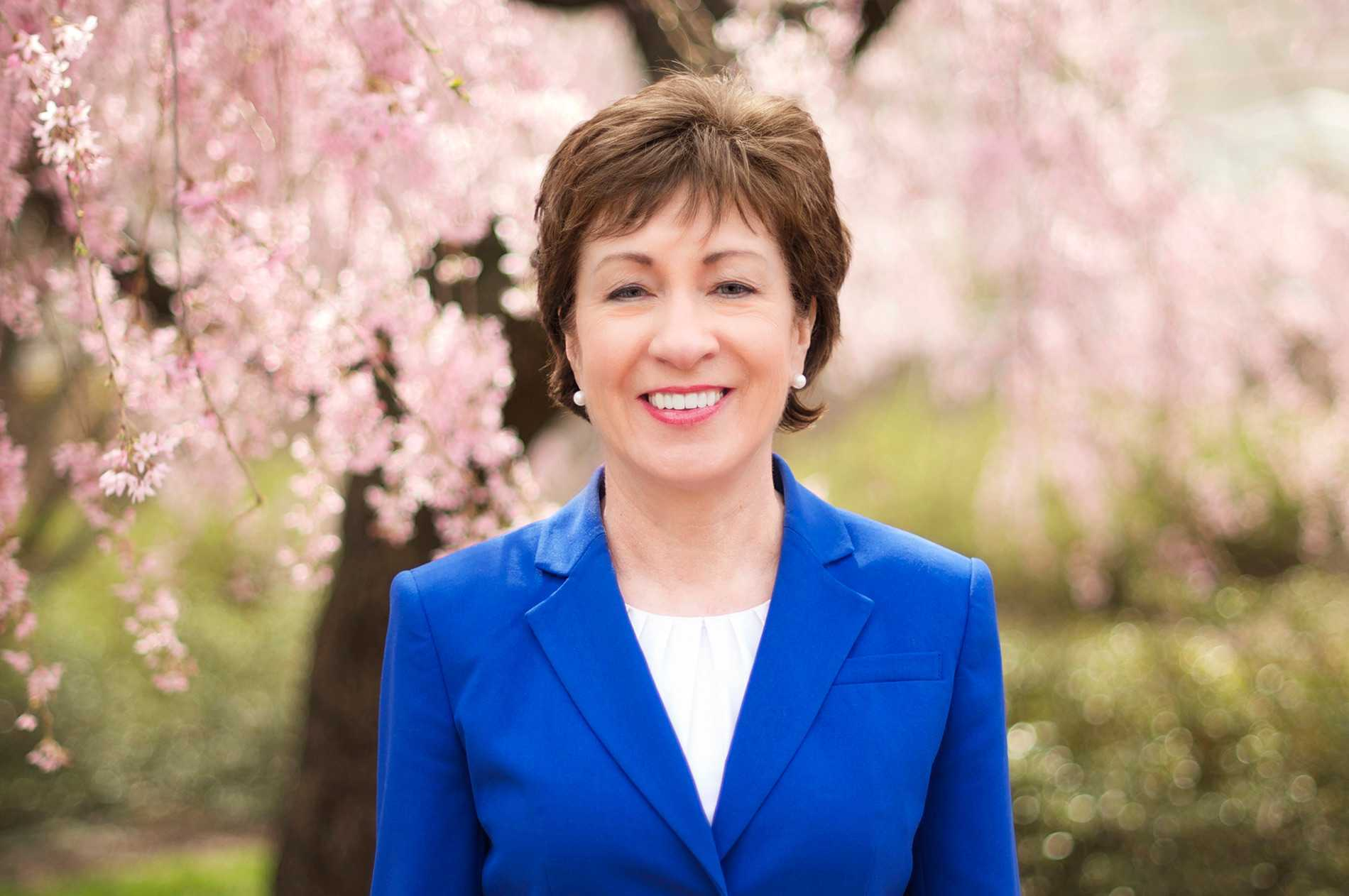 Susan Collins Bio Net Worth Health Contact Age Facts