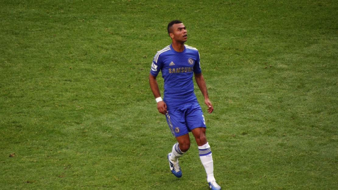 Footballer Ashley Cole