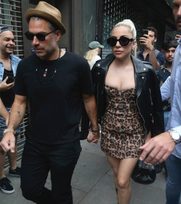 Lady Gaga and Christian Carino Engagement