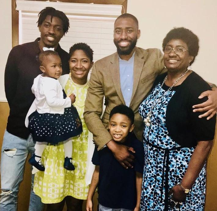 Gerald Onuoha family
