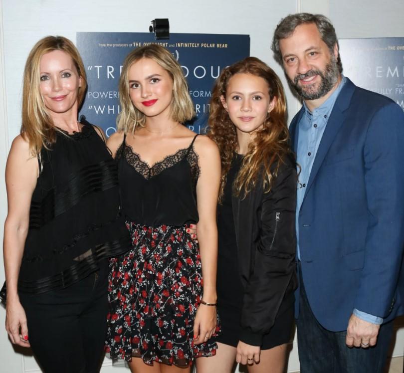 Leslie Mann Family