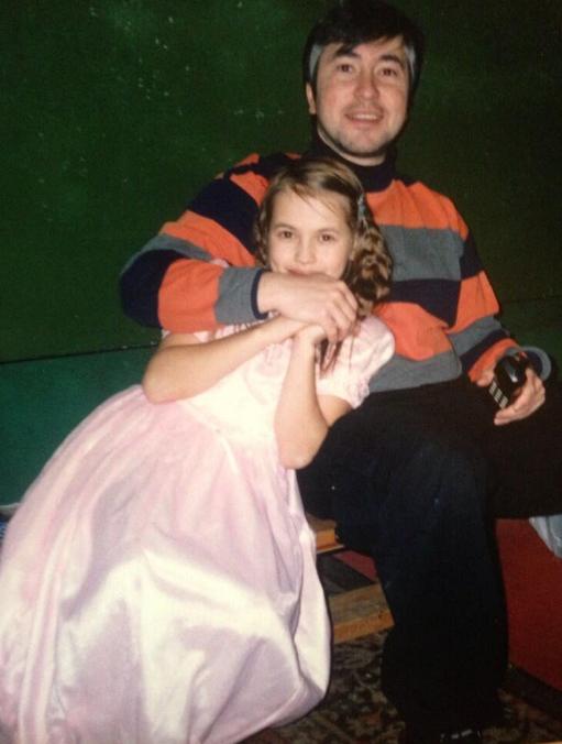 Yulia Putintseva Father's Day