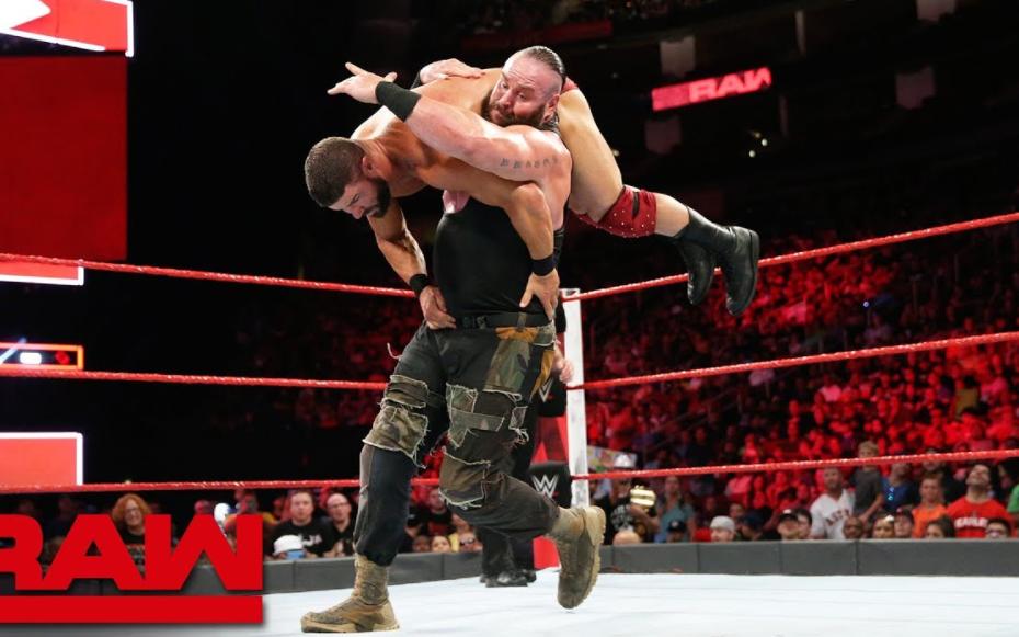 Braun Strowman against Bobby Roode