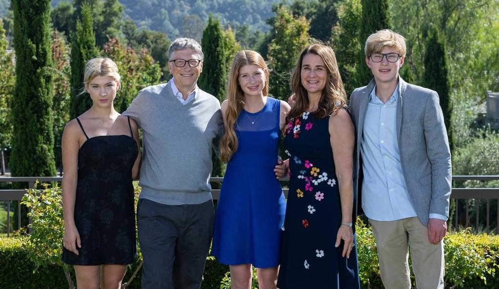Melinda Gates family