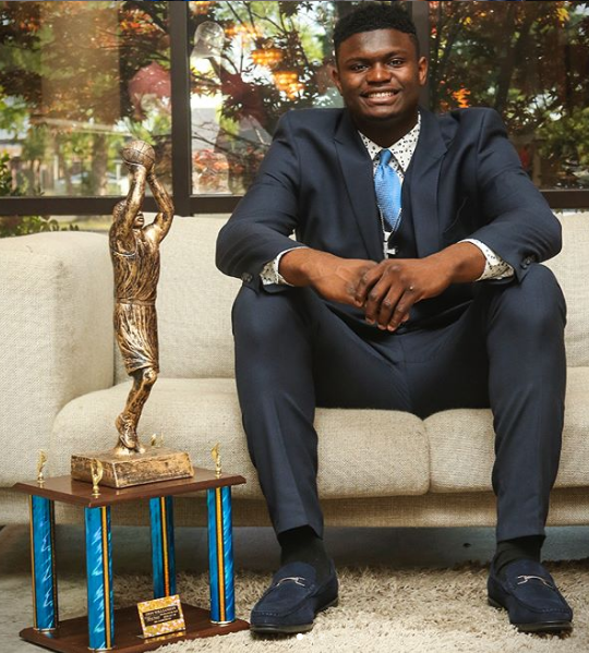Zion Williamson Achievements