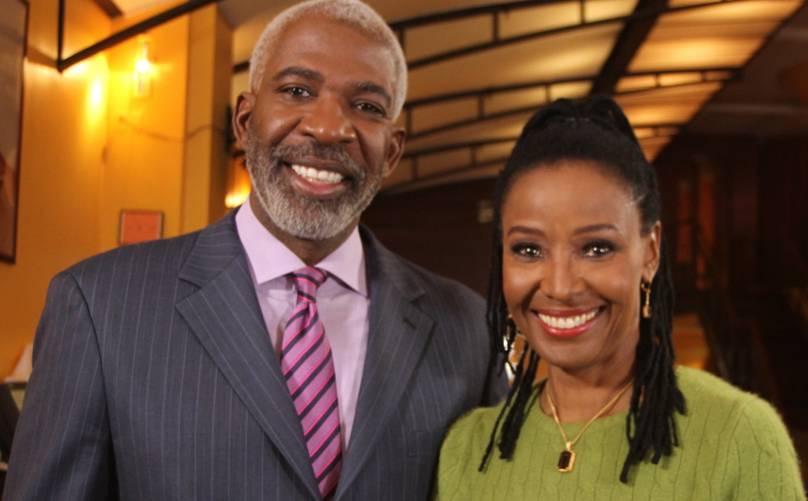 B. Smith and Husband Dan gasby