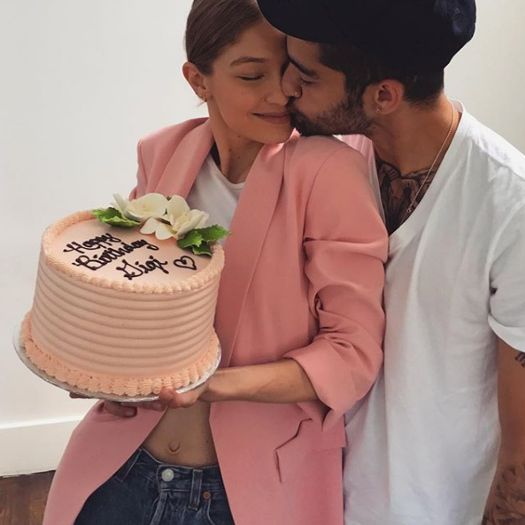 Gigi Haedid and Zayn
