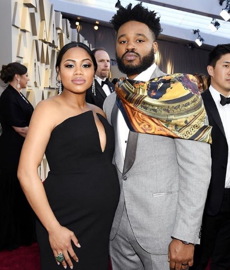 Ryan Coogler and Zinzi Evans