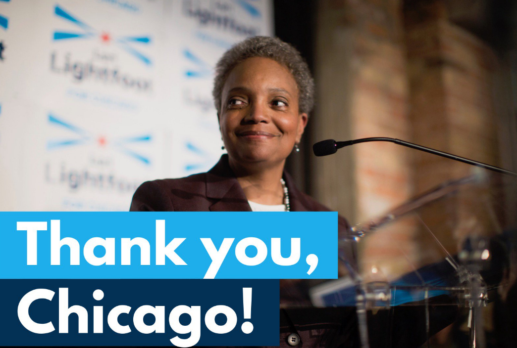 Lori Lightfoot Mayor of Chicago