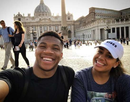 Giannis and Girlfriend