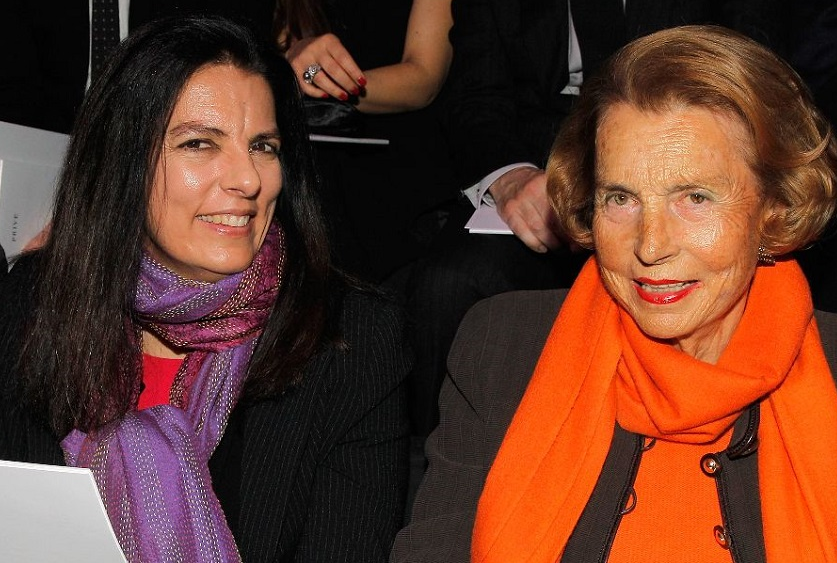françoise bettencourt meyers and liliane bettencourt