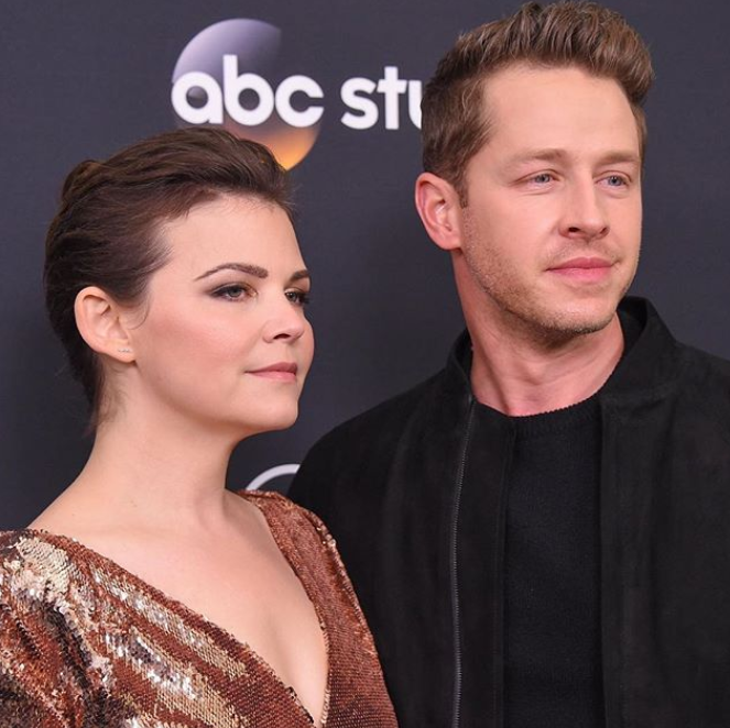 Ginnfer Goodwin and Josh Dallas