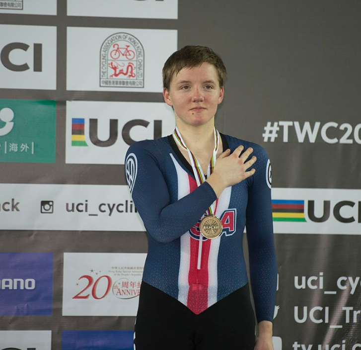 Kelly Catlin Cycling