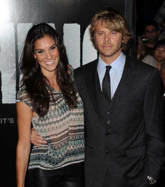 Daniela Ruah and her husband, David Paul Olsen