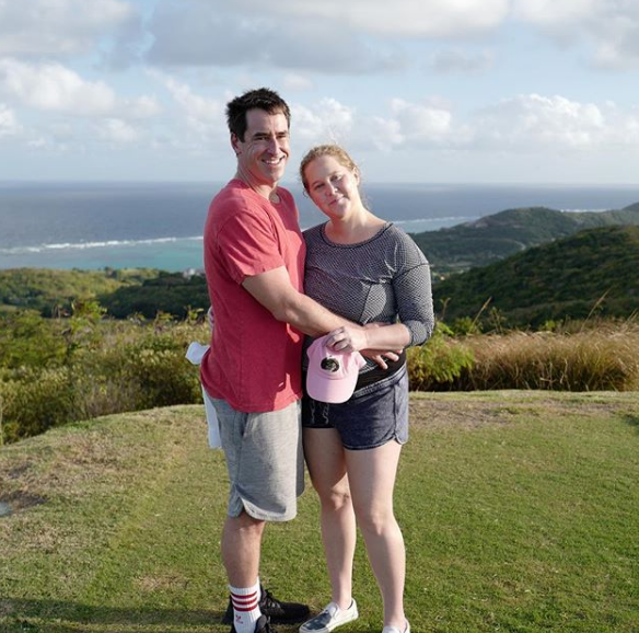 Amy Schumer and Chris Fischer  a couple ho loves each other