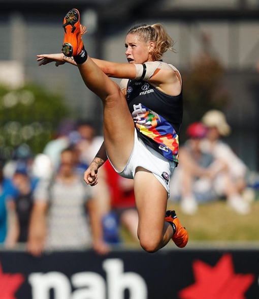 Tayla Harris Kick