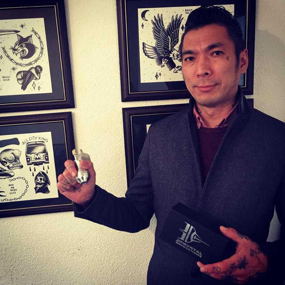 Yoji Harada Miami Ink