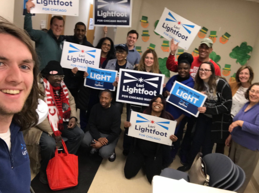 Lori Lightfoot Supporters