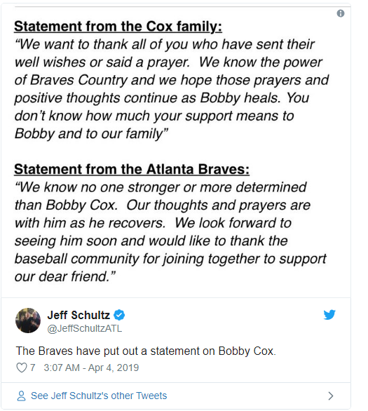 Boddy cox Statements