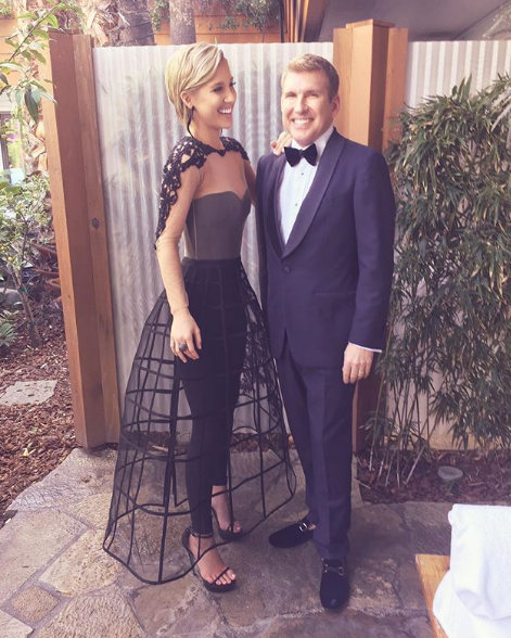 Savannah Chrisley and her Dad Todd Chrisley