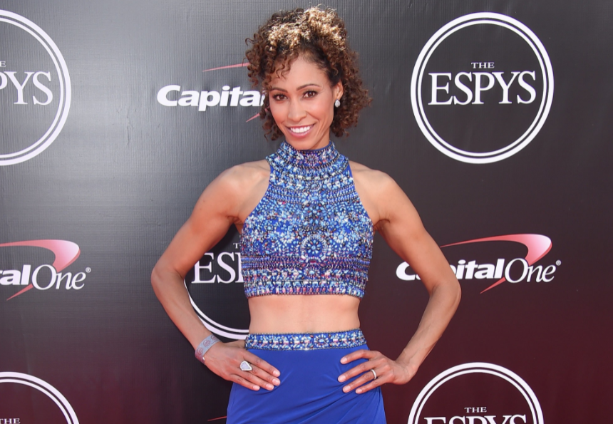 American television anchor, Sage Steele