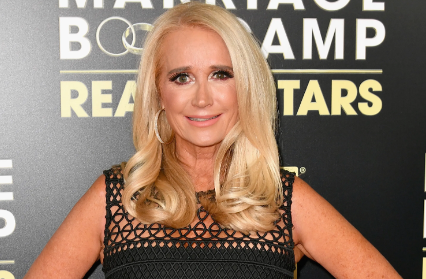 Kim Richards, an American actress, socialite and TV personality