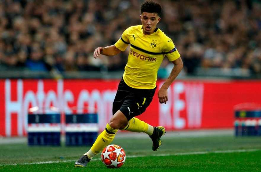 Jadon Sancho Career