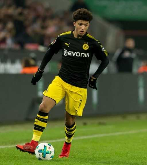 Jadon Sancho Height