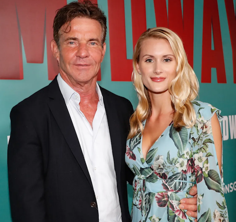 Dennis Quaid, 65, CONFIRMS engagement to PhD student Laura Savoie