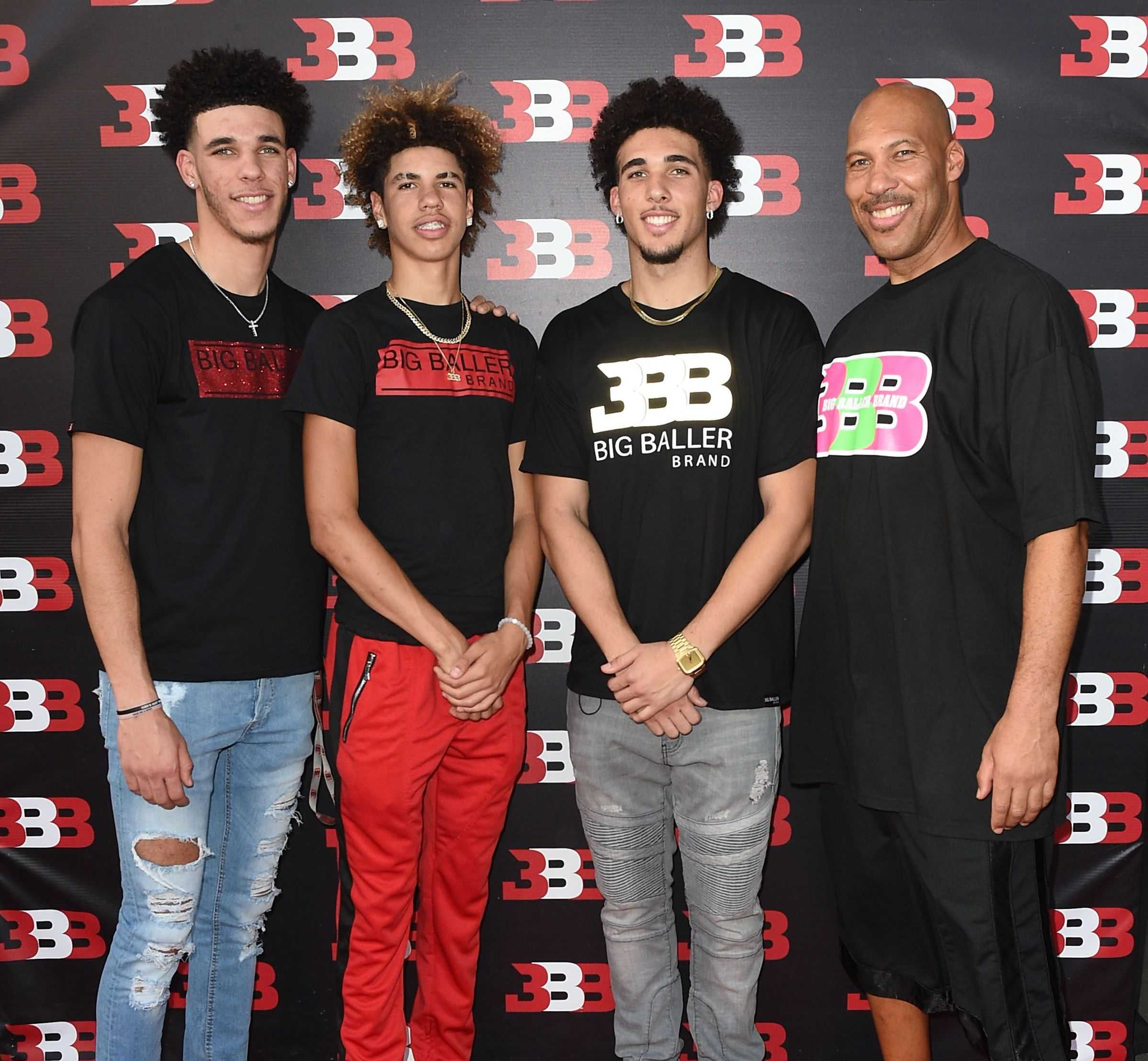 Lonzo Ball Family