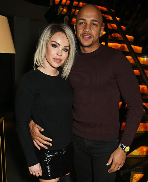 Katie Piper and her husband, Richard Sutton
