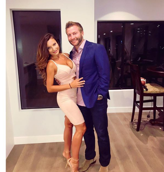 Rams Head Coach Sean McVay Engaged to Girlfriend Veronika Kholmyn