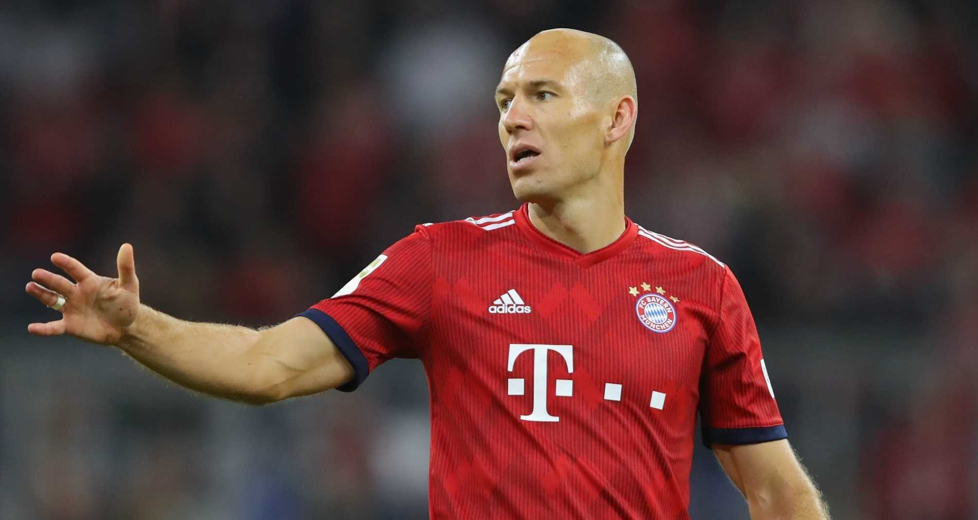 Real Madrid And Bayern Munich Star Arjen Robben Announces