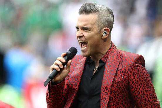 Robbie Williams Weight