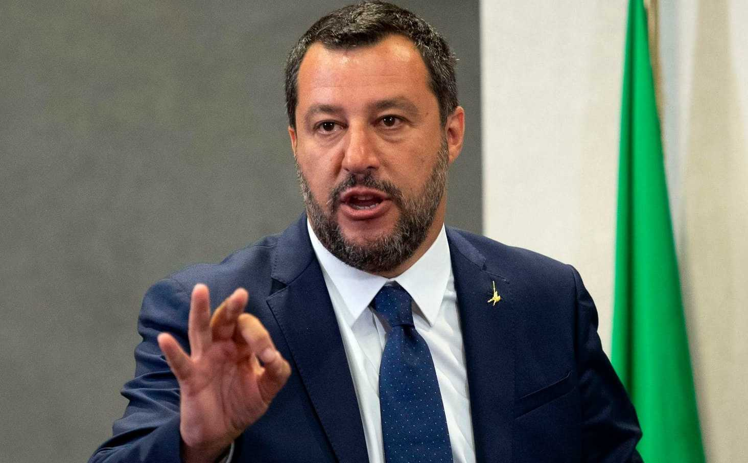 Matteo Salvini Career