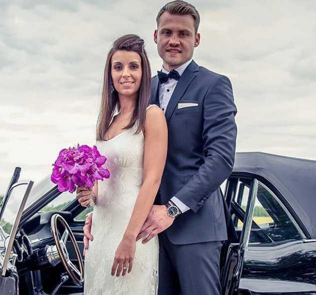 Simon Mignolet Wife